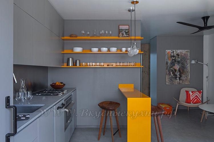 Фото: красивая кухня в стиле хайтек