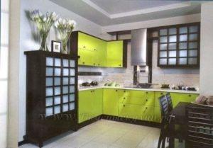 Фото: кухня в этно стиле