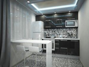 фото: серая кухня
