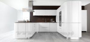 Фото: кухня с современном стиле из массива на заказ