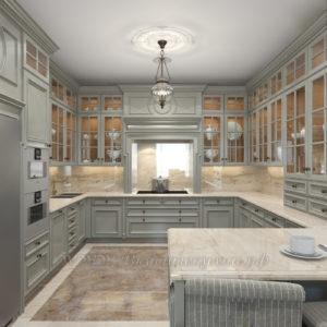 Фото: купить белую кухню в стиле прованс