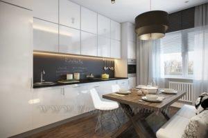 фото: кухня в современном стиле из мдф заказать
