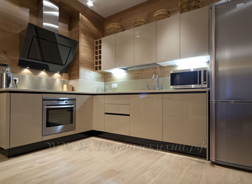 Фото: кухня в классическом стиле крашеное