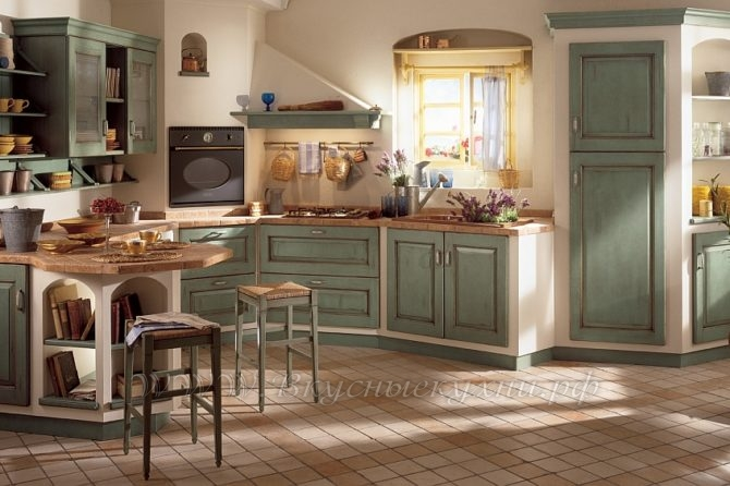 Tende per cucine country 2