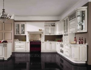 Фото: кухня белая прованс купить