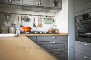 Фото: купить кухню в стиле прованс из массива
