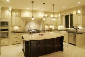 Фото: классические кухни на заказ