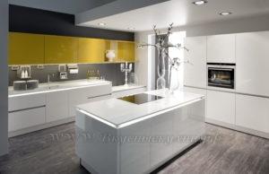 фото: кухня в современном стиле из мдф