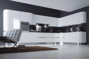 фото: кухня кремового цвета в современном стиле азказать