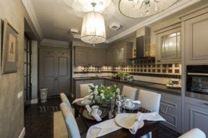 Фото: купить серую кухню в стиле прованс