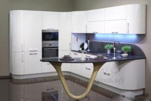 фото: п образная кухня в современном стиле
