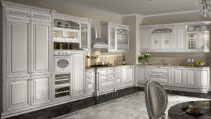Фото: белые классичекие кухни купить