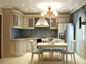 ФотоLроскошная кухня в стиле прованс купить