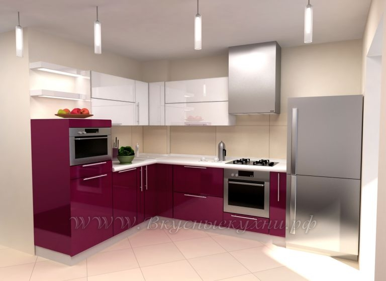 фото: Г образная кухня в стиле модерн