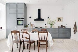 Фото: серая кухня в стиле прованс купить