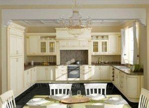 Фото: кухня в классическом стиле на заказ