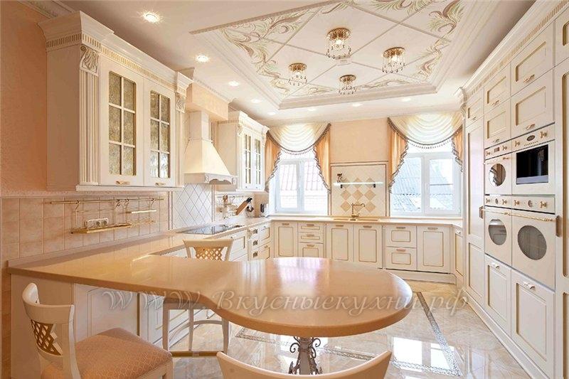 Фото: кухня в классичеком стиле