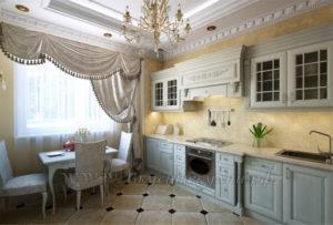 Фото: классическая кухня на заказ