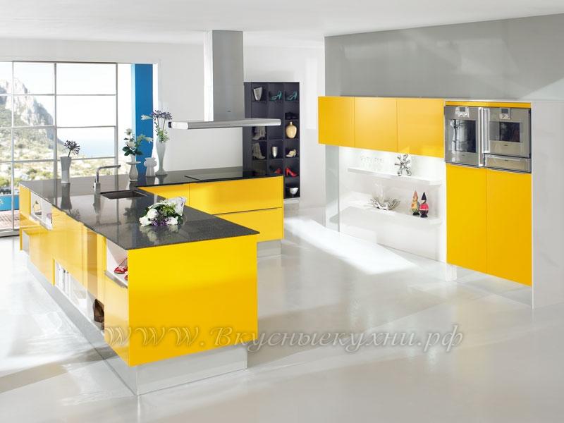 Фото: кухня в стиле хайтек