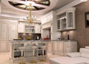 Фото: кухни заказ классическом стиле