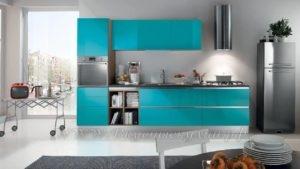 фото: кухня березового цвета в современном стиле