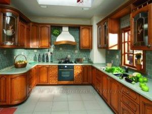 Фото: кухня в стиле прованс купить из массива